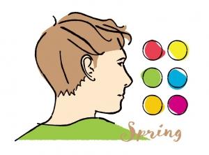 【メンズパーソナルカラー】男性向けスプリング(イエベ春)タイプの似合う色とコーディネート