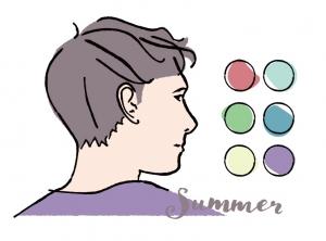 【メンズパーソナルカラー】男性向けサマー(ブルべ夏)タイプの似合う色とコーディネート